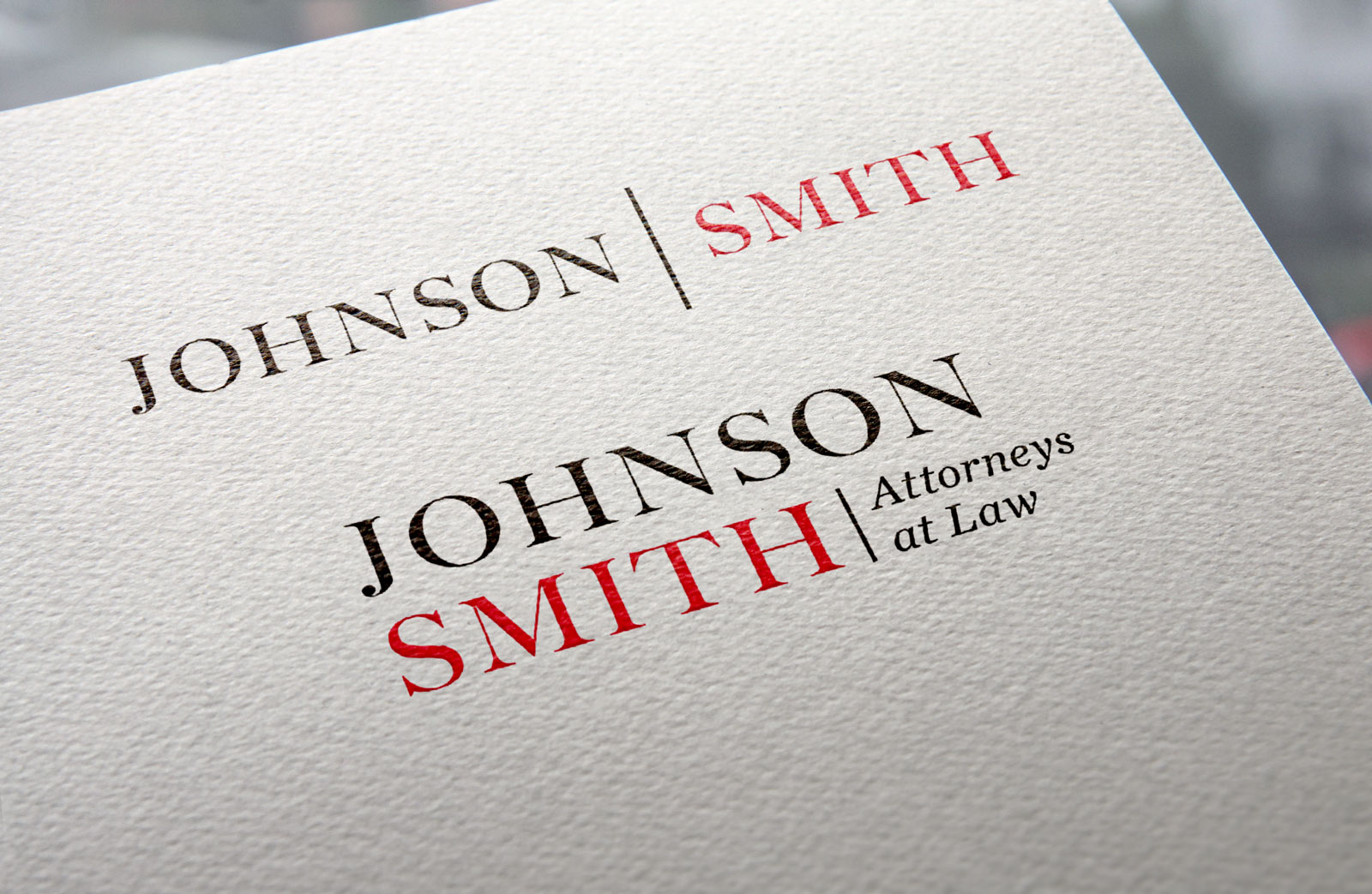 Johnson / Smith lawfirm logo