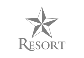 resort custom homes logo